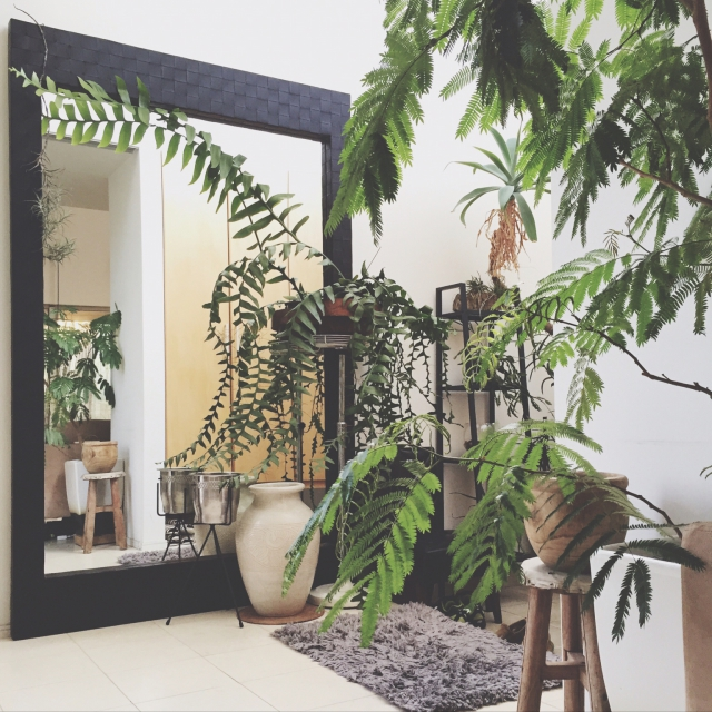 光と透明感、空間の広がりを感じる「鏡」の効果的な活用例