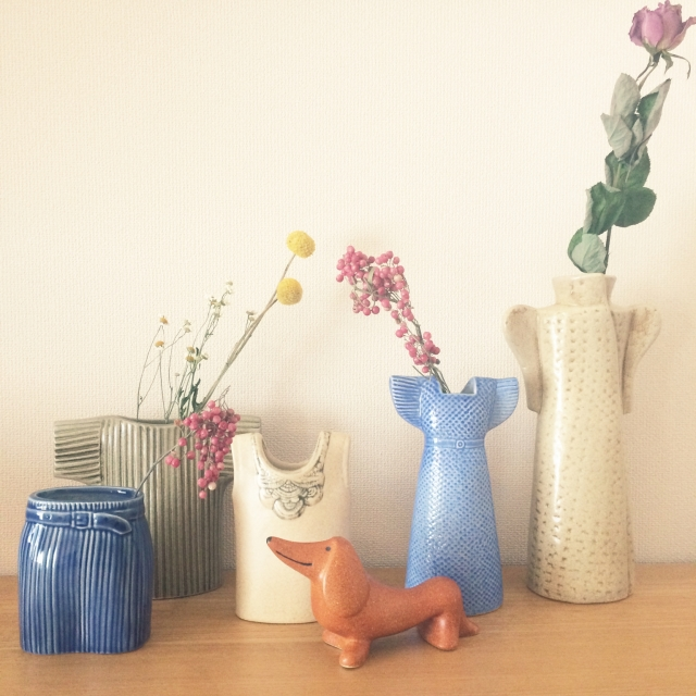花を引き立てる名脇役!花瓶の世界を楽しんでみませんか?