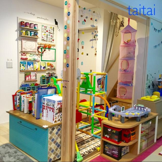 空間フル活用♪ 物を捨てずに暮らしを楽しむ快適収納のコツ by taitaiさん