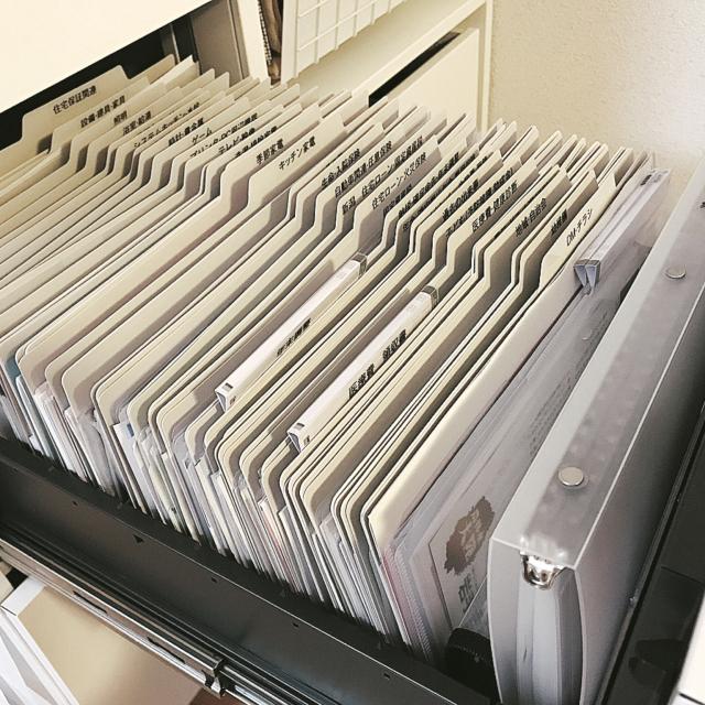 「もうリバウンドしない!書類のホームファイリング術」 by yuka.nagashimaさん   RoomClip mag