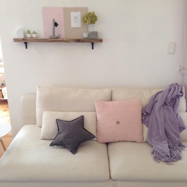 まろやかにキマる☆グレイッシュカラーでお部屋づくり | RoomClip mag | 暮らしとインテリアのwebマガジン