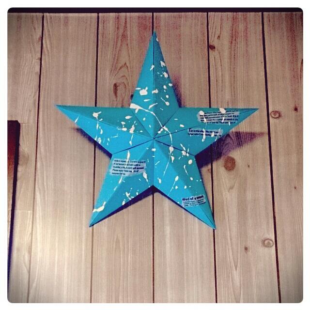 """幸福を呼び寄せる""""星""""。ティンバーンスターを作ってお部屋 ..."""