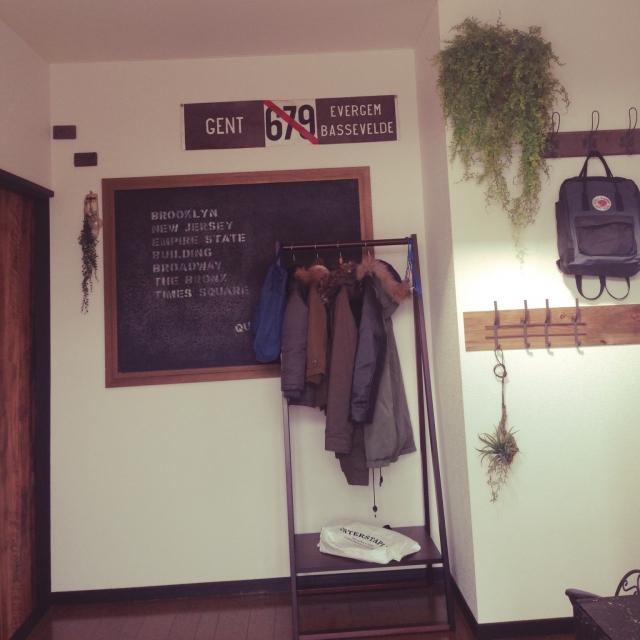 何でも掛けよう☆無印良品のコートハンガーと衣類掛け | RoomClip mag | 暮らしとインテリアのwebマガジン