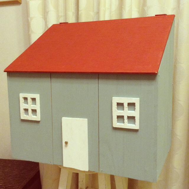 家の形をした本格小物入れ
