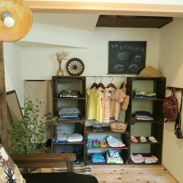 見せていいものと、そうでないものを分ける!洋服♡収納術 | RoomClip mag | 暮らしとインテリアのwebマガジン