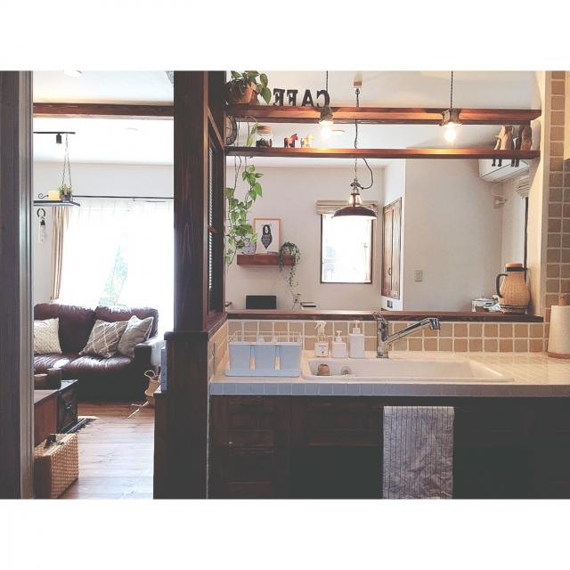 「こだわりと緩さのバランスでつくる自分らしさ。木の温もりに囲まれた空間」憧れのキッチン vol.56 Reiyaさん | RoomClip mag | 暮らしとインテリアのwebマガジン