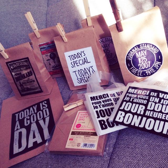 ダイソーの紙袋が優秀!インテリアにも使えるおすすめ紙袋 | RoomClip mag | 暮らしとインテリアのwebマガジン