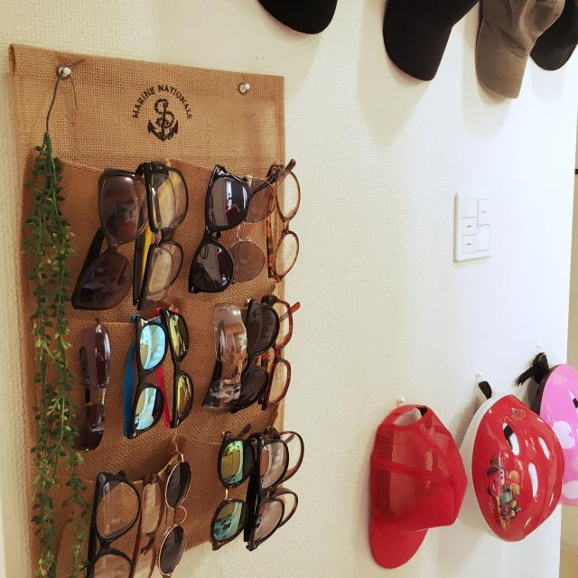まさに目から鱗☆メガネ&サングラスの収納アイディア