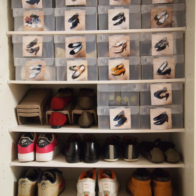 靴も喜ぶ収納アイディア