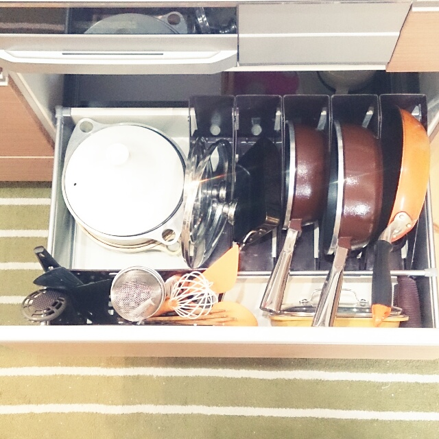 システムキッチンの中見せて!賢く上手なキッチンの収納アイデア集