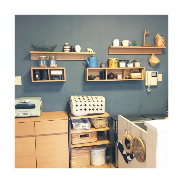 お家の壁を有効活用しよう☆無印良品の壁に付けられる家具