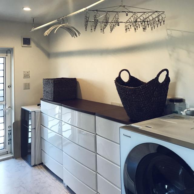 ちょっとした工夫で、毎日の洗濯がぐんと楽になる☆ | RoomClip mag | 暮らしとインテリアのwebマガジン