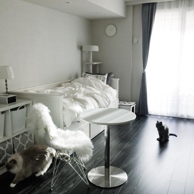 一人暮らしの方必見♡ワンルームに置くテーブル選び攻略法 | RoomClip mag