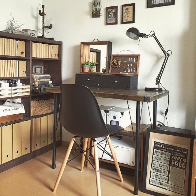 小さな空間でOK!自分だけの特別なワークスペースの作り方 | RoomClip mag | 暮らしとインテリアのwebマガジン