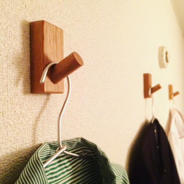 無印良品のフックが便利すぎ!種類別に使い方を紹介♪ | RoomClip mag | 暮らしとインテリアのwebマガジン
