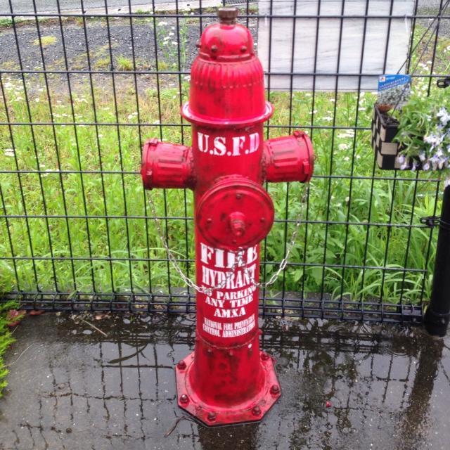 アメリカンな消火栓風