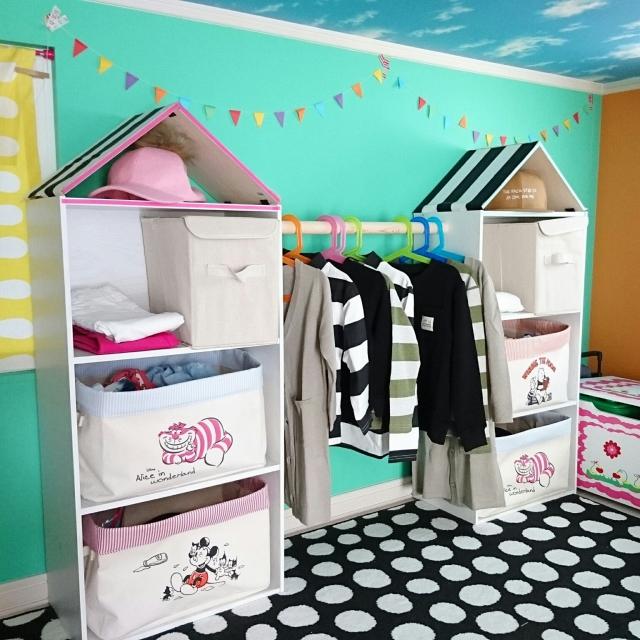 自立心を育てる子ども用ハンガーラックDIY集 | RoomClip mag | 暮らしとインテリアのwebマガジン