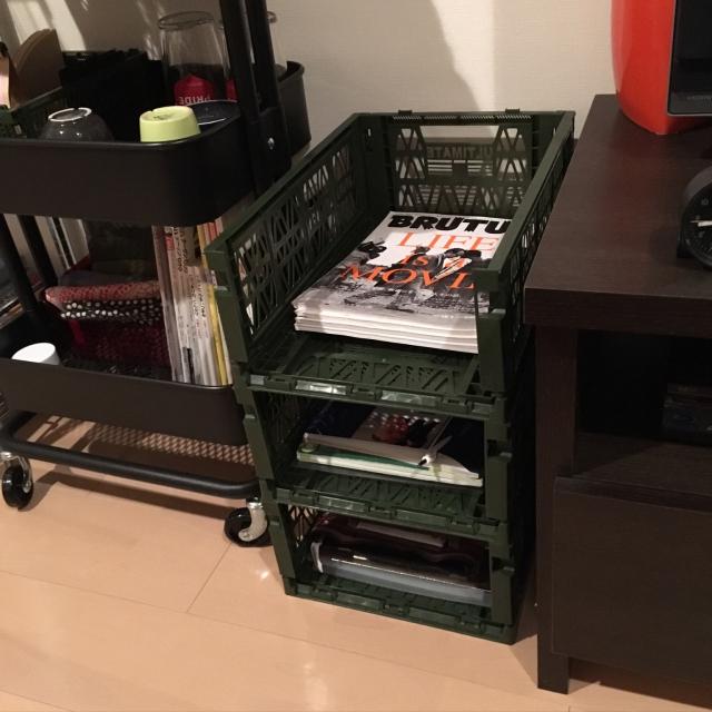 プチプラで男前な収納なら、ダイソーのコンテナに決まり! | RoomClip mag | 暮らしとインテリアのwebマガジン