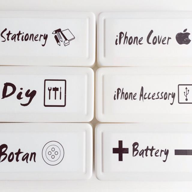 ダイソーの粘土ケースが収納として優秀すぎる! | RoomClip mag | 暮らしとインテリアのwebマガジン