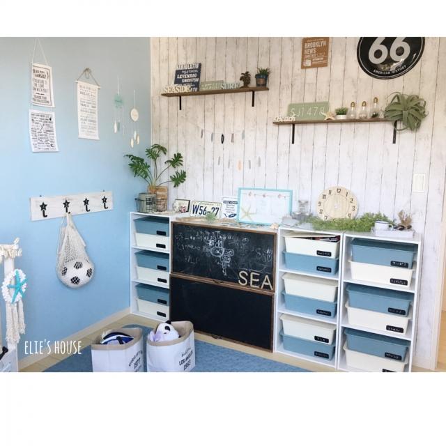 イメージ一新!子ども部屋でのリメイクシート活用術 | RoomClip mag