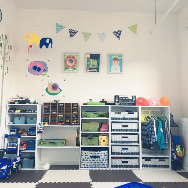 子ども用のスペースでつかいたい!便利なセリアアイテム