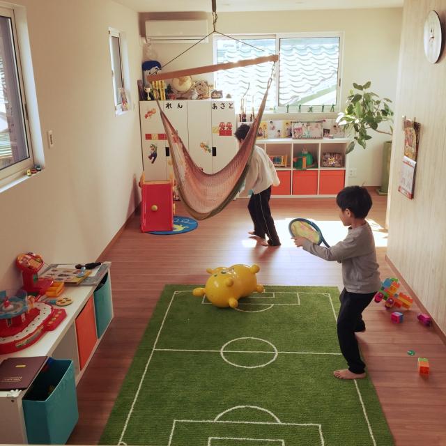 雨の日だって!室内遊びで楽しく過ごせるキッズスペース | RoomClip mag | 暮らしとインテリアのwebマガジン
