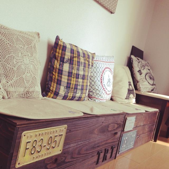 何とおりにも使える、便利な収納ベンチをつくってみよう | RoomClip mag | 暮らしとインテリアのwebマガジン