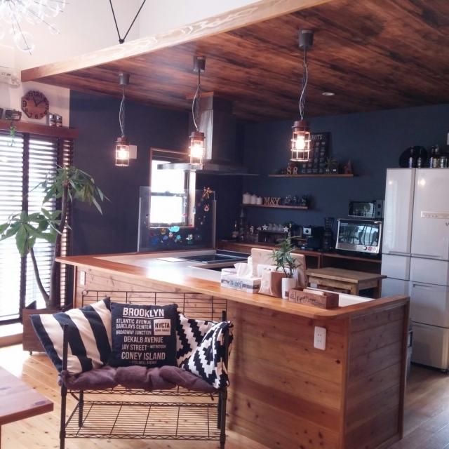 「家族をいつも近くに感じる。おうちカフェ空間」憧れのキッチン vol.86 yurinaさん | RoomClip mag | 暮らしとインテリアのwebマガジン