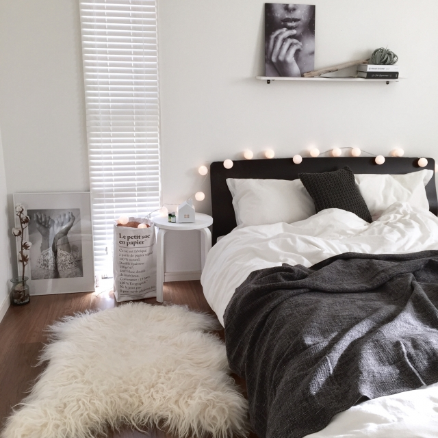 コットンボールランプのある、ホッコリ空間11選♡ | RoomClip mag | 暮らしとインテリアのwebマガジン