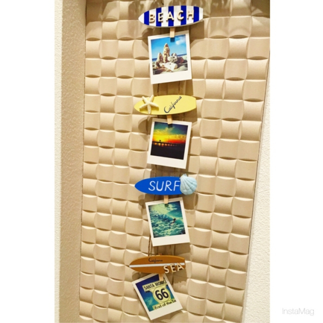 西海岸インテリアの必需品☆サーフボードオブジェの飾り方 | RoomClip mag | 暮らしとインテリアのwebマガジン