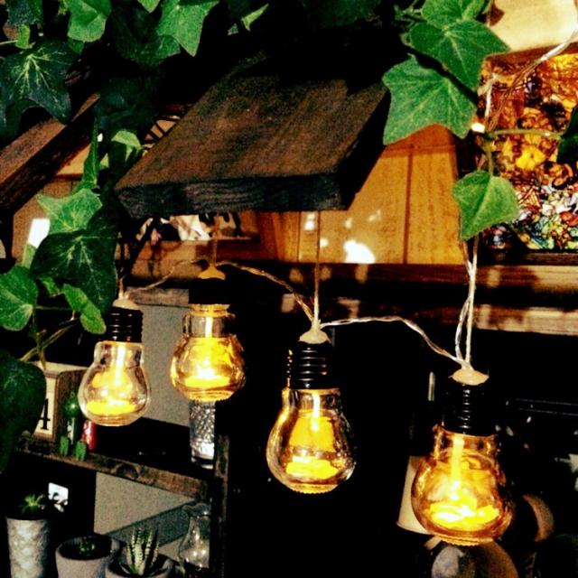 フォルムが可愛い!電球型瓶アレンジ実例集