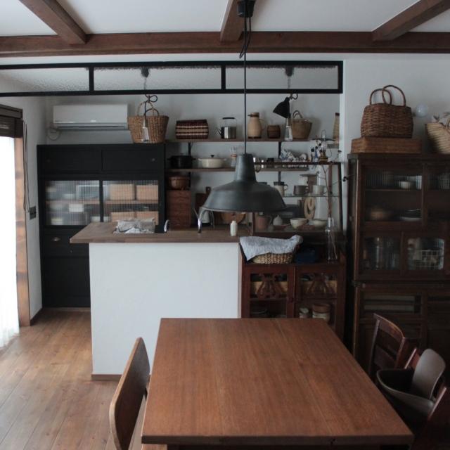 手作りの温もりと日本の『レトロ』が漂う、穏やかな住まい〜moco2_homeさん〜[連載:RoomClip_新人ユーザー紹介] | RoomClip mag | 暮らしとインテリアのwebマガジン