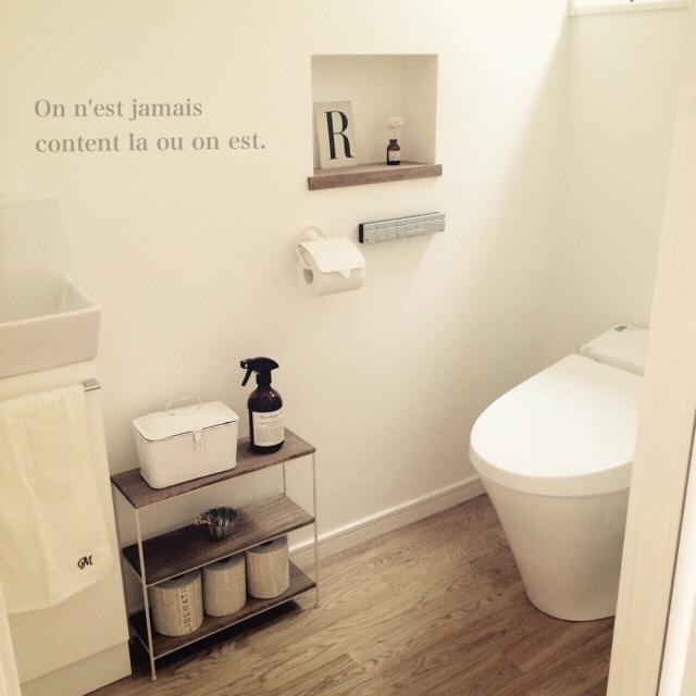 シンプル×ナチュラルトイレ