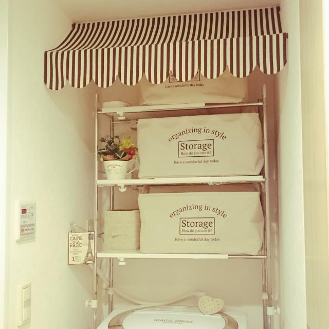 100均グッズで整理整頓!洗面所収納のお悩み解決 | RoomClip mag | 暮らしとインテリアのwebマガジン