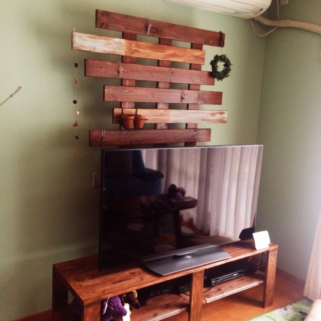 大型DIYにチャレンジ☆リビングのテレビ台をDIYしちゃおう | RoomClip mag | 暮らしとインテリアのwebマガジン