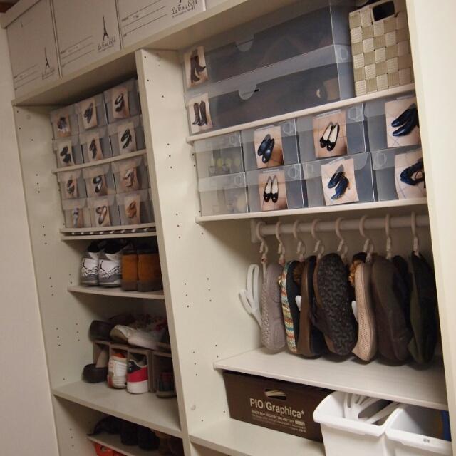 玄関にたっぷりしまえる♡10の実例で見るシューズクロークの収納術