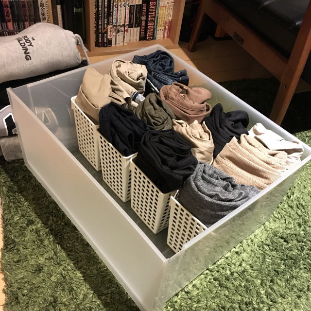 衣類をきちんと整理整頓♪タンスを使いこなす収納方法