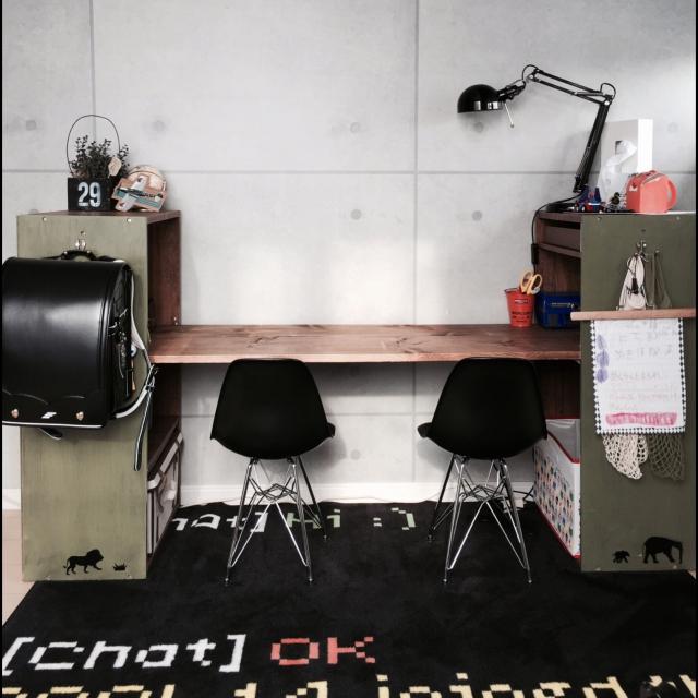 2人一部屋の子ども部屋♪みんなはどんなレイアウト? | RoomClip mag | 暮らしとインテリアのwebマガジン