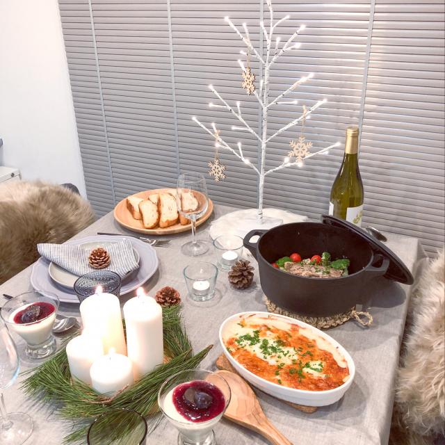 イオンの人気アイテム2つで!今年のクリスマスは、楽チン&華やかに食卓を彩ろう♡