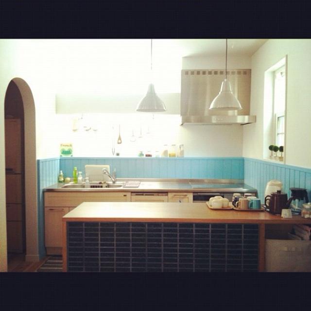 使いやすくすっきり♪参考にしたいキッチンのレイアウト | RoomClip mag | 暮らしとインテリアのwebマガジン