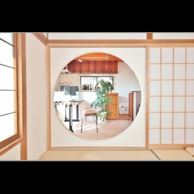 「内も外も、庭も家具もDIYで仕上げた風情豊かな家」 by 100smileHOMEさん