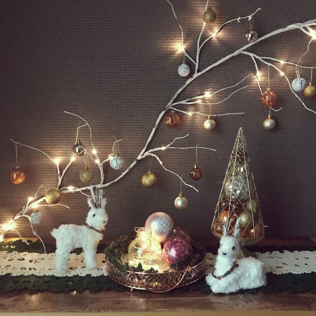 今年のクリスマスはニトリにおまかせ!テクニックいらずで華やか&映える♪ 家中どこでもクリスマス スモールコーデ術