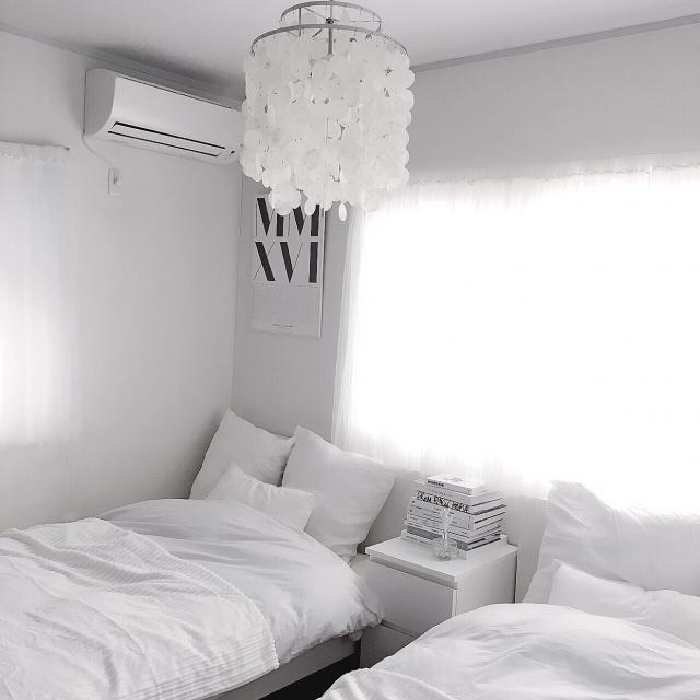 まるで海外インテリアのよう☆部屋別モノトーンインテリア | RoomClip mag | 暮らしとインテリアのwebマガジン