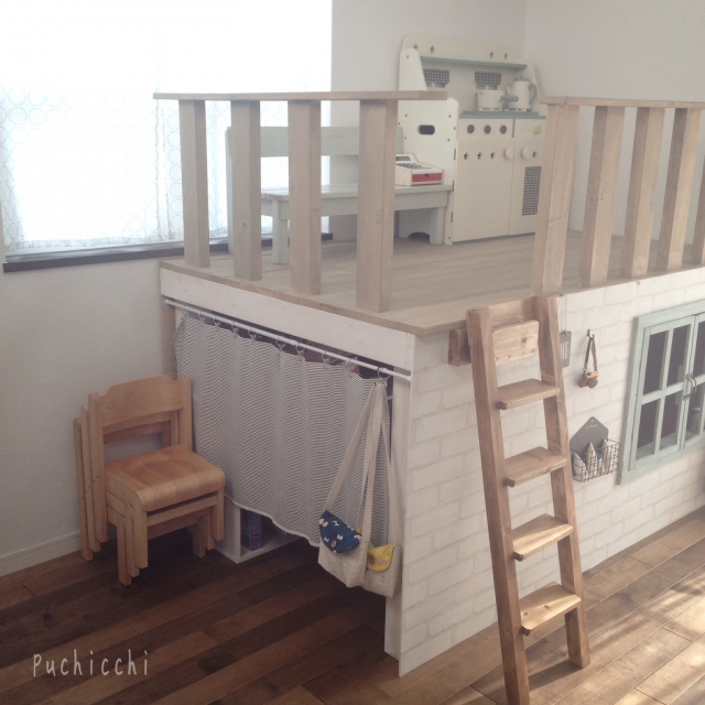 大人も子どももワクワクしちゃう♡秘密基地スペース | RoomClip mag | 暮らしとインテリアのwebマガジン