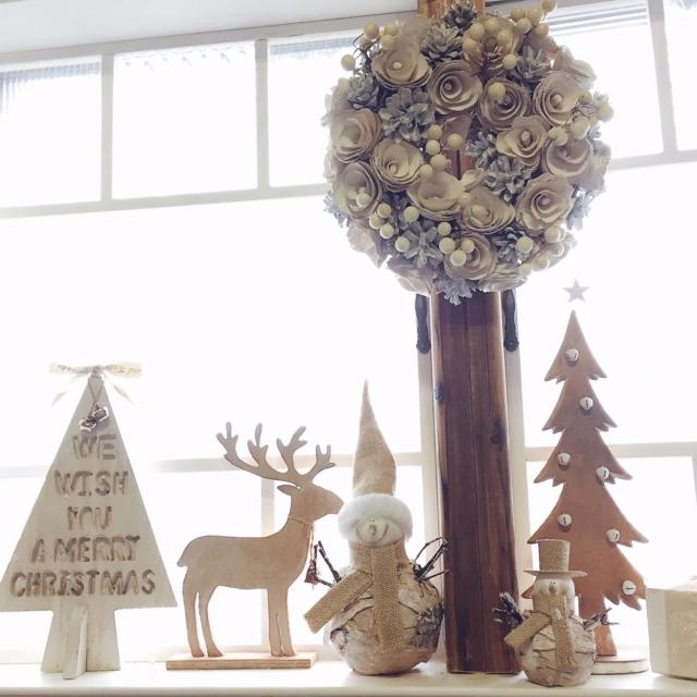 クリスマスは窓がおうちの主役に☆ステキな「デコ窓」実例【PR】 | RoomClip mag | 暮らしとインテリアのwebマガジン