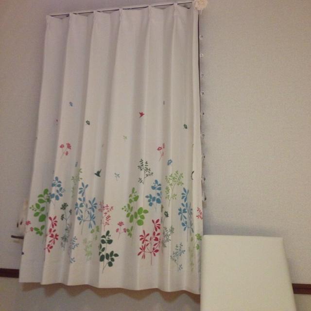 melonさんのカーテン