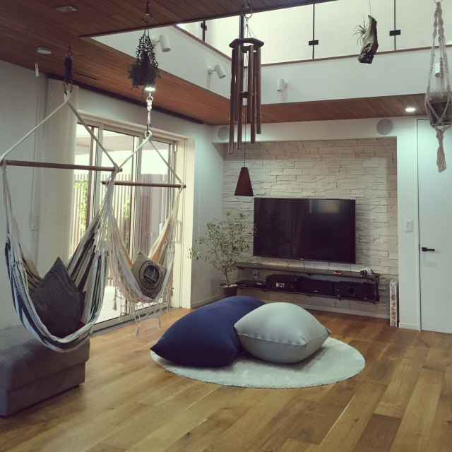 Yogiboや無印良品のビーズソファで快適床生活 | RoomClip mag | 暮らしとインテリアのwebマガジン