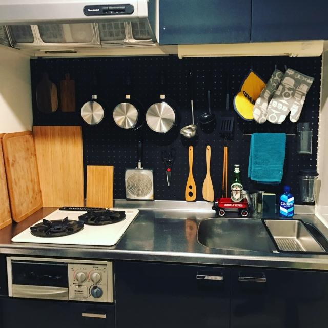 狭くても大丈夫!キッチン収納を増やす10のアイデア | RoomClip mag | 暮らしとインテリアのwebマガジン