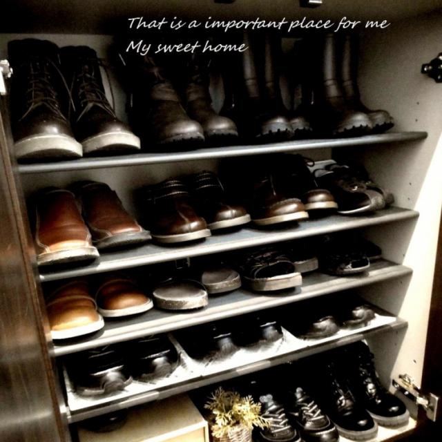 靴箱を使いやすく♪100均アイテム活用の収納アイデア | RoomClip mag | 暮らしとインテリアのwebマガジン