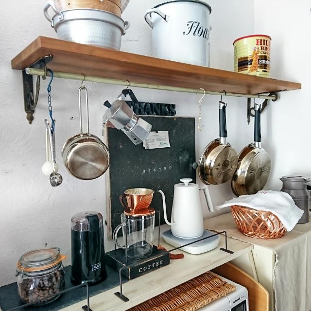 しあわせが生まれる空間に♡楽しむキッチンディスプレイ